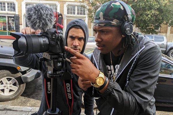 Dream Beyond Bars filming